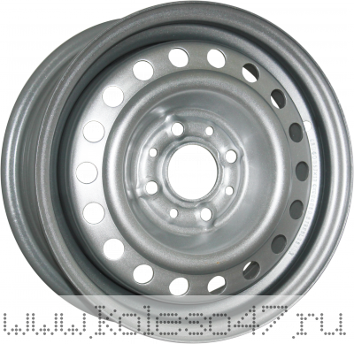 TREBL 64G48L 6x15/5x139.7 ET48 D98.6 Silver