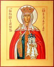 Икона Ольга, княгиня