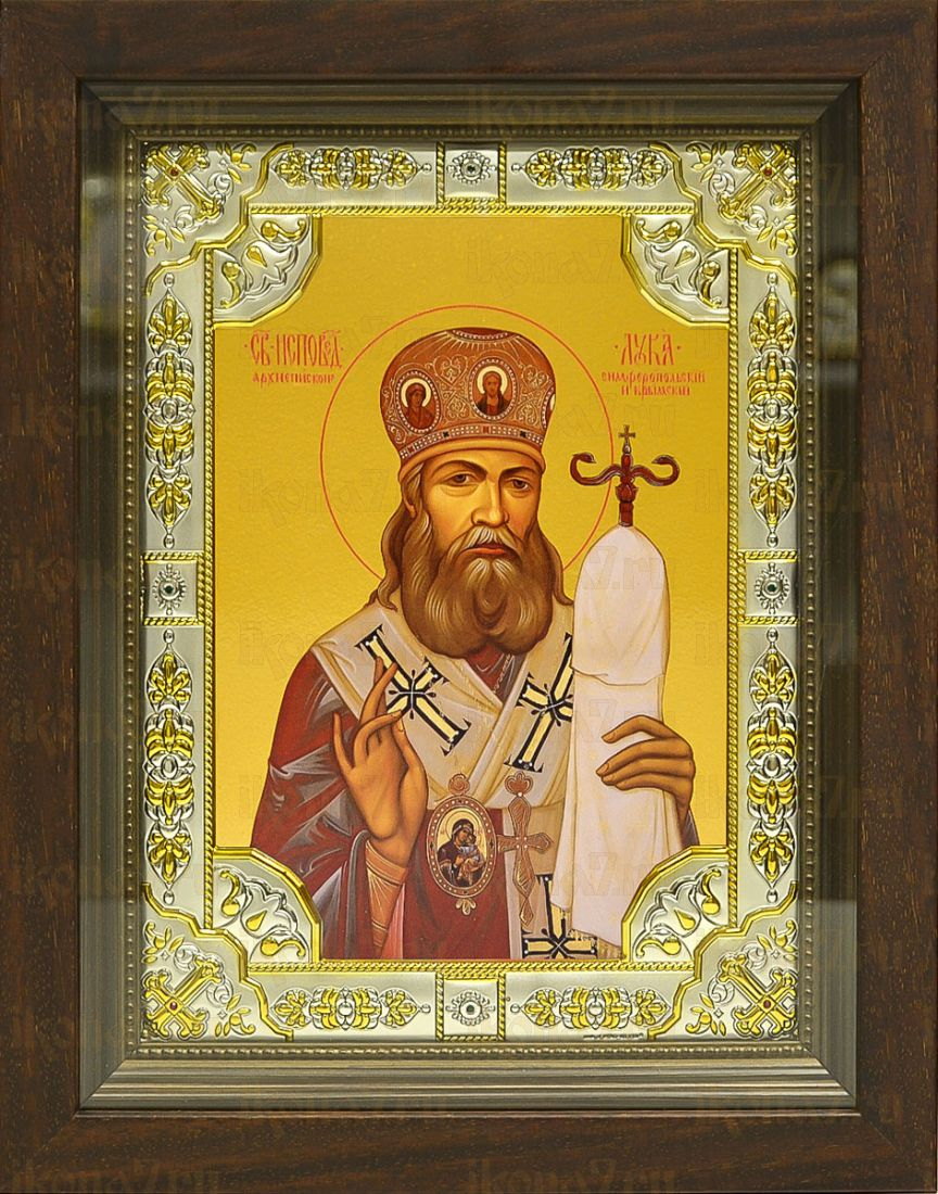 Лука Крымский (24х30), серебро