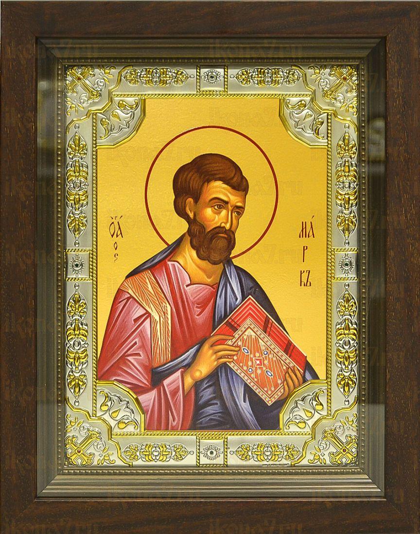 Марк, апостол (24х30), серебро