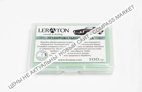 Среднеабразивная полировальная глина(зеленая) LERATON 100г