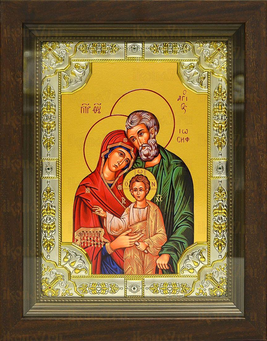 Святое семейство (24х30), серебро
