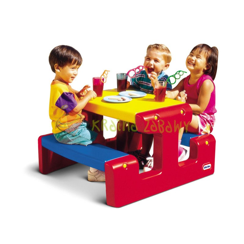 Стол для пикника Красно-синий Little Tikes