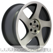 VISSOL V-006 8.5x18/5x112 ET45 D66.6 BLACK MACHINED WITH DARK TINT