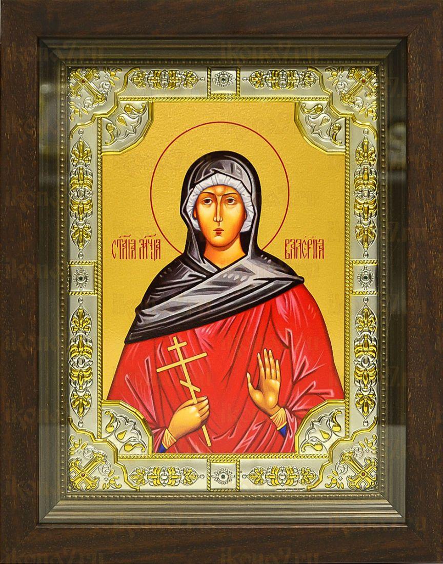 Валерия Кесарийская (24х30), серебро