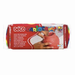 """Пластичная масса для моделирования и лепки CARIOCA """"Deco"""", 500 г, отвердевающая, терракот, 30996/21"""