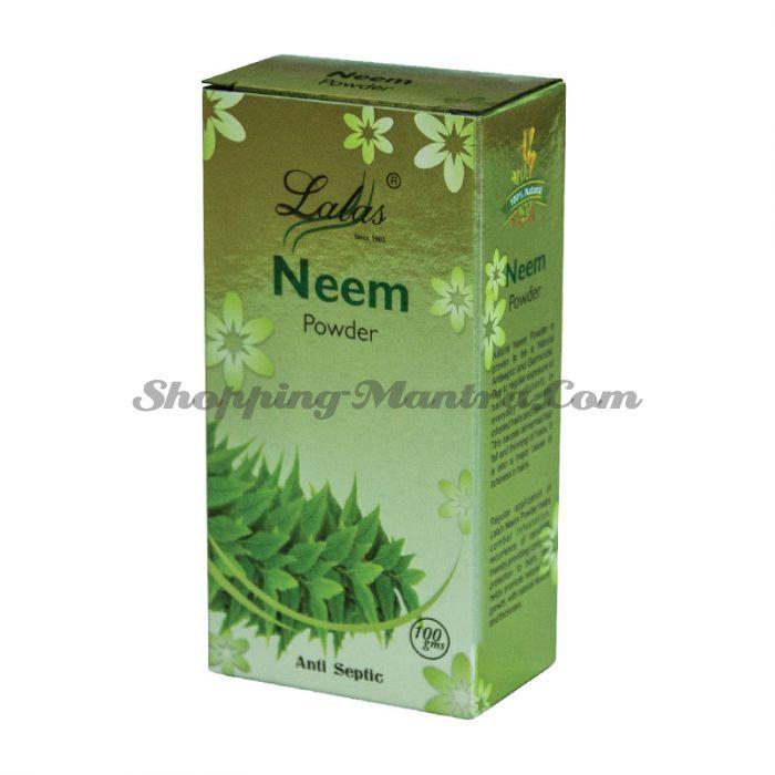 Ним (порошок) лечебная маска для волос Лалас Хербал | Lalas Herbal Neem Hair Powder