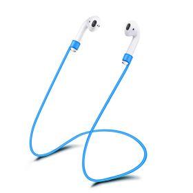 Шнурок для airpods (синий)
