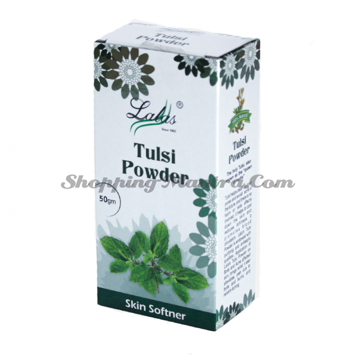 Тулси (порошок) маска для лица Лалас Хербал | Lalas Herbal Tulsi Skin Powder