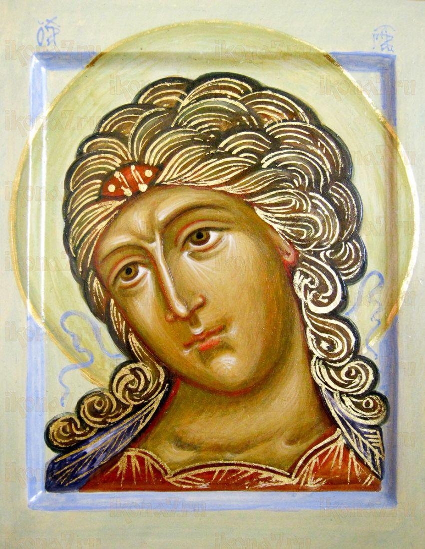 Ангел Златые власы (икона на дереве)