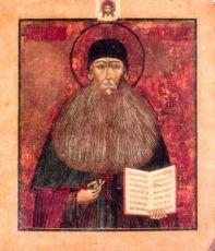 Икона Максим Грек (копия 18 века)