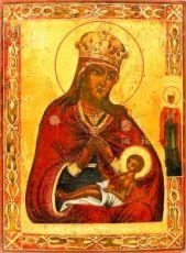 Икона Умиление Смоленская (копия 19 века)
