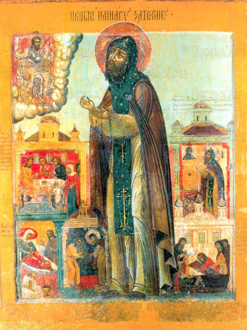 Иринарх Затворник (копия иконы 17 века)