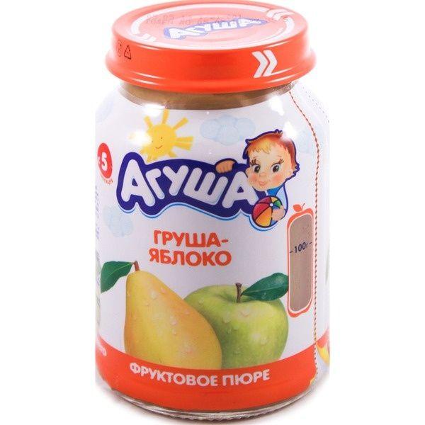 Пюре Агуша 200г фрукт. яблоко/груша