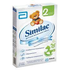 Мол.смесь СИМИЛАК 2 350г картон