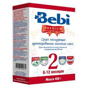Мол.смесь Беби PREMIUM 2 400г/24 картон