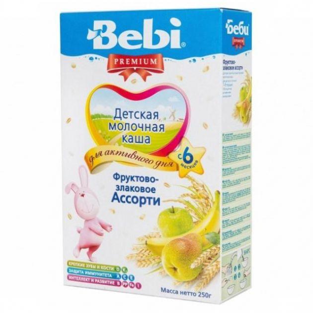 Каша Беби Премиум фрукты/злаки ассорти с 6мес. 250г Словения