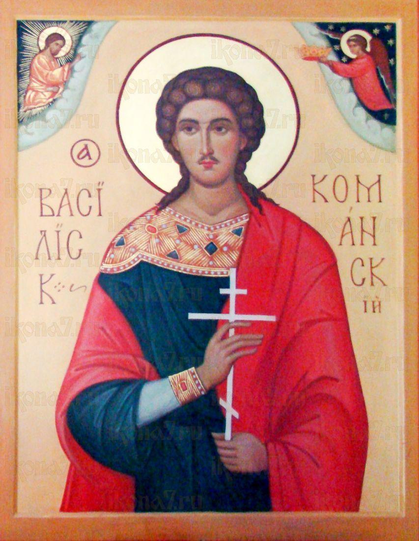 Икона Василиск Команский