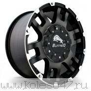 BUFFALO BW-004 8.5x17/6x139.7 ET25 D106.3 MATTE-BLACK