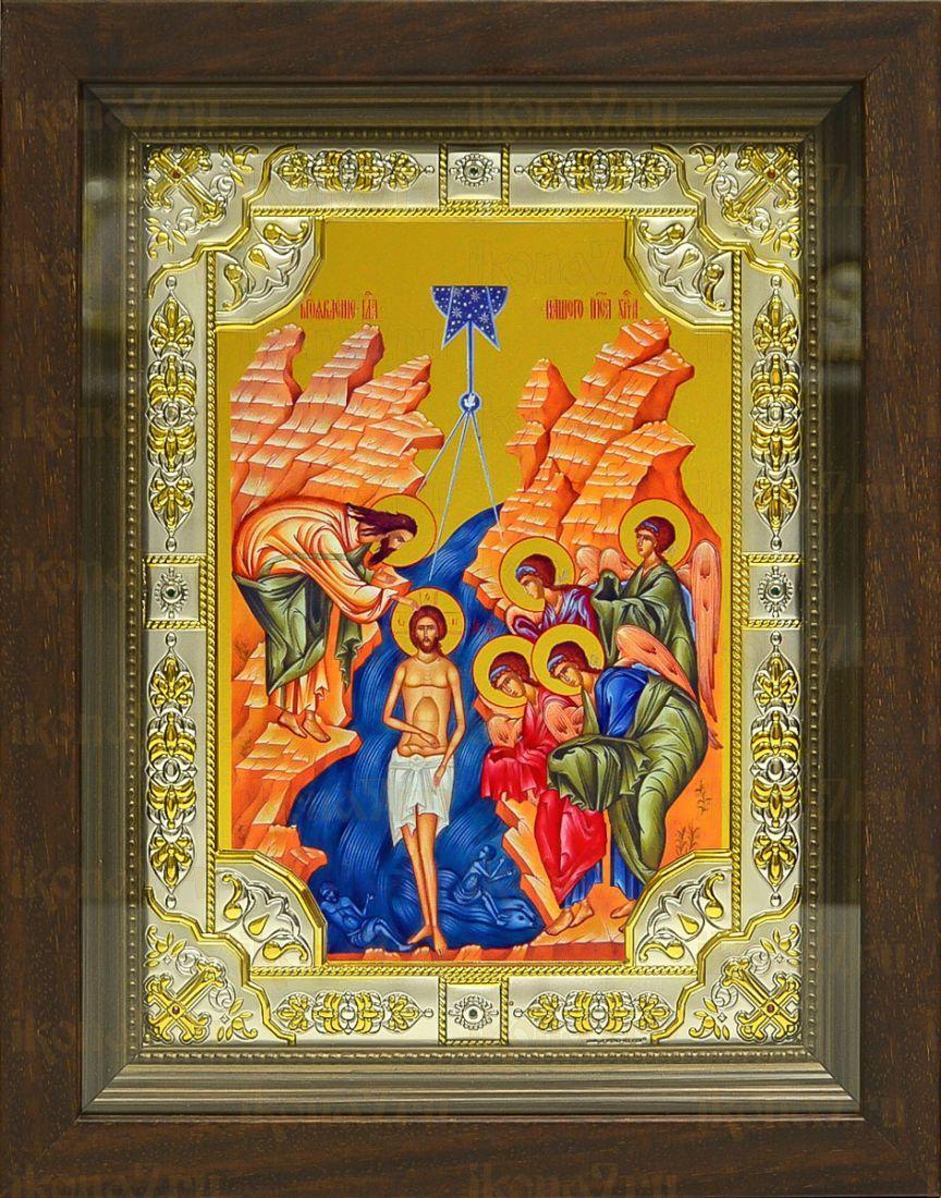Крещение Господне (24х30), серебро