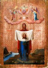 Порт-Артурская икона Божией Матери (копия старинной)