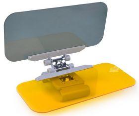 Система защиты от солнца и бликов с фильтром для ночного вождения