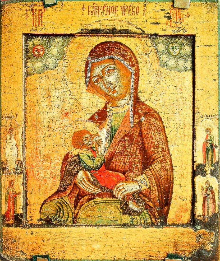 Барловская икона Божией Матери (копия 18 века)