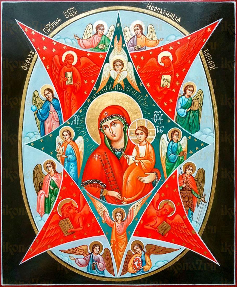 Неопалимая купина икона Божией Матери