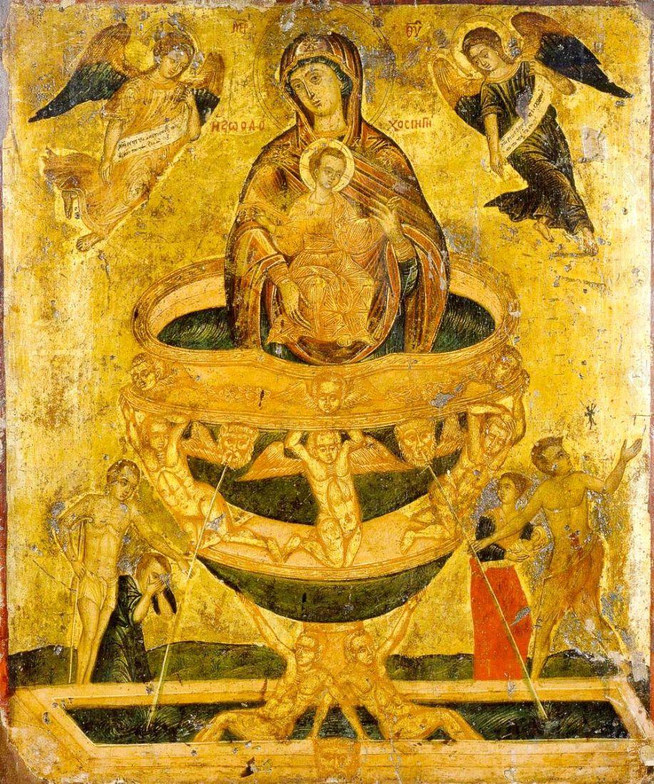 Живоносный источник (копия старинной иконы)