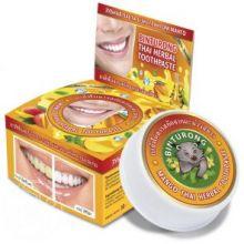 Круглая зубная Паста с Экстрактом манго «BINTURONG», 33г