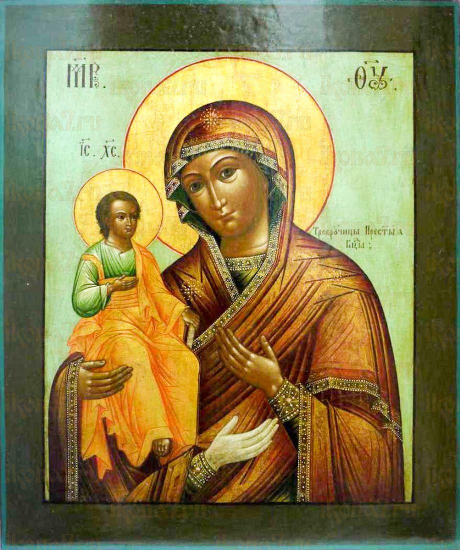 Икона Троеручица (копия старинной)