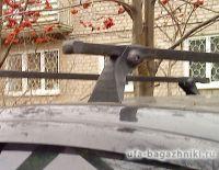 Багажник на крышу на Renault Sandero (Атлант, Россия), стальные дуги