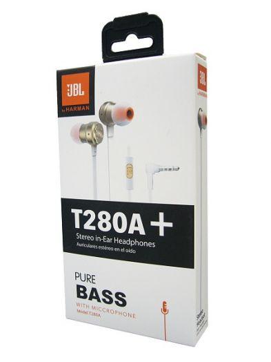 Наушники вакуумные - гарнитура T280A+