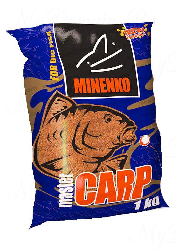 Прикормка МИНЕНКО Master Carp Chocolate (Шоколад), вес 1 кг