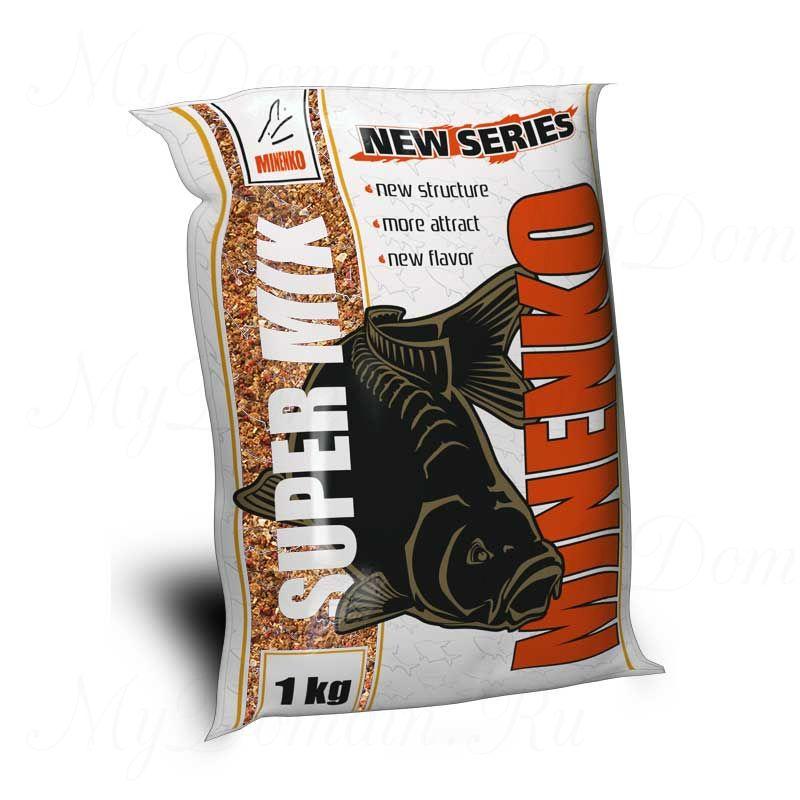 Прикормка МИНЕНКО Super Mix Feeder (ФИДЕР), вес 1 кг