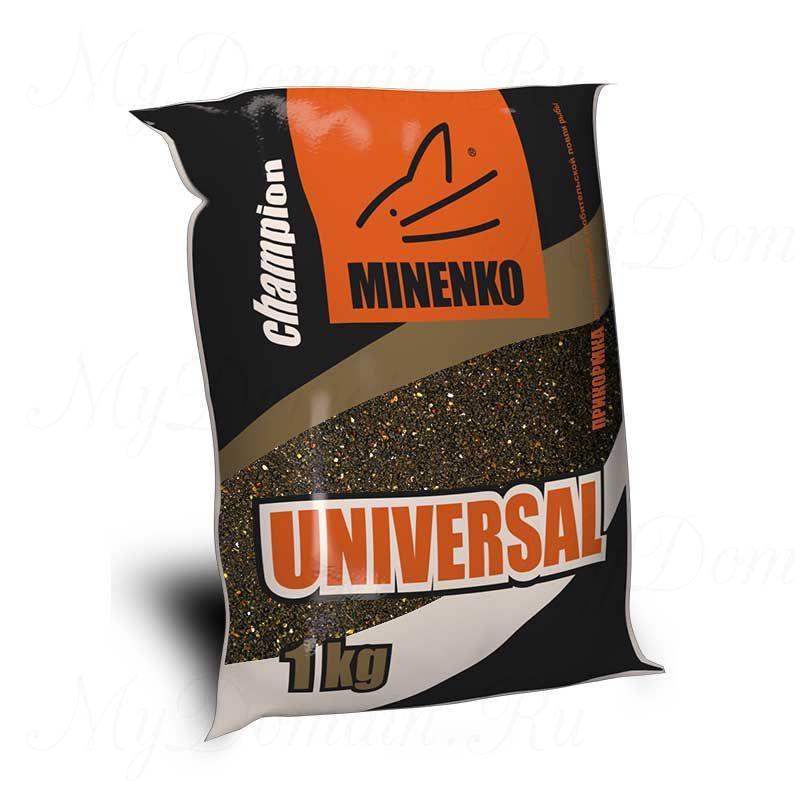 Прикормка МИНЕНКО Universal (канал), вес 1 кг