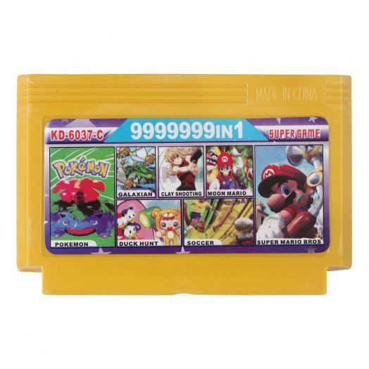 Dendy картридж 9999999 в 1 KD-6037С