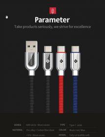 TOTU DESIGN USB кабель для зарядки для USB-TYPE-C 25см с/п до 480 Мbs