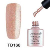 Lacomchir TD 166 гель-лак, 10 мл