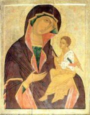 Грузинская икона БМ (копия 16 века)