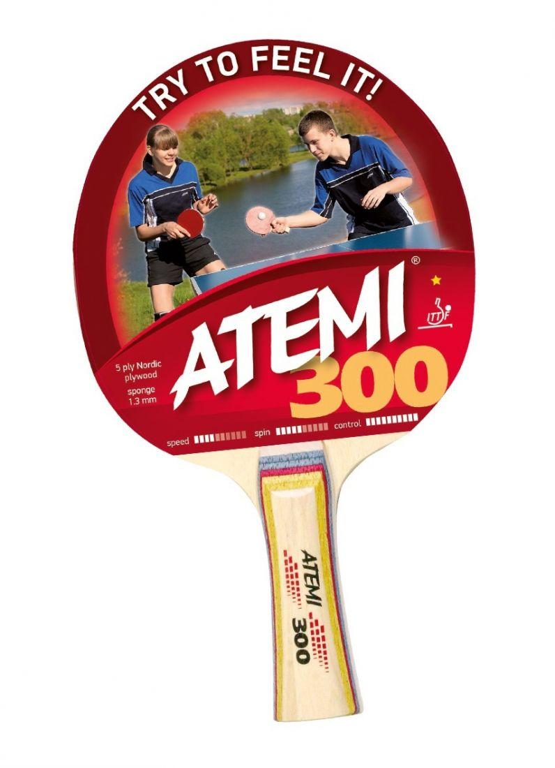 Ракетка для настольного тенниса ATEMI 300 1 звезда
