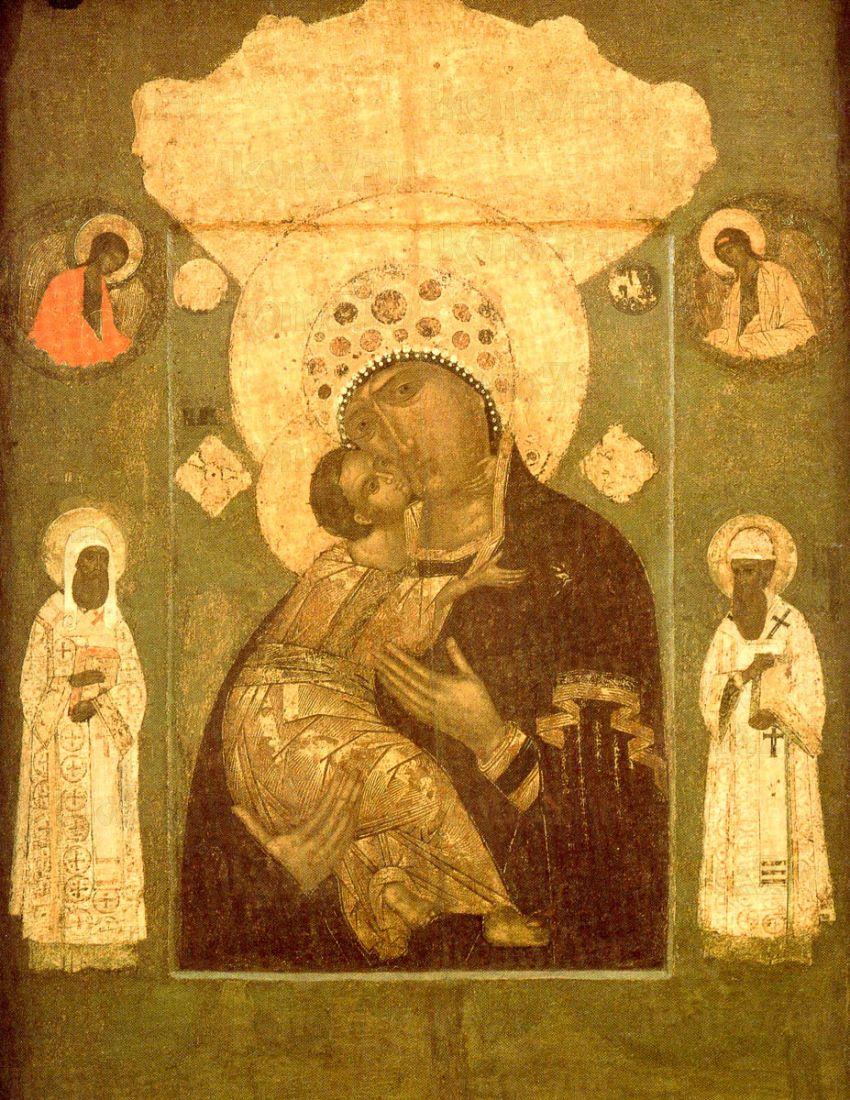 Волоколамская икона Божией Матери (копия старинной)