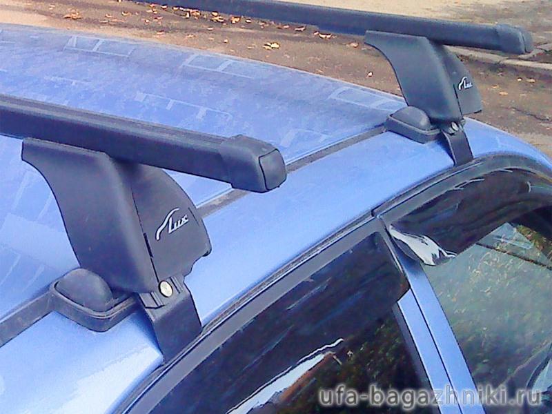 Багажник на крышу Ravon R2 2016-... , Lux, прямоугольные стальные дуги