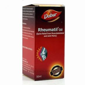 Лечебное масло для суставов РЕВМАТИЛ Dabur (Rheumatil Oil), 50 мл.