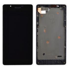 LCD (Дисплей) Microsoft Lumia 540 (в сборе с тачскрином) (в раме) Оригинал