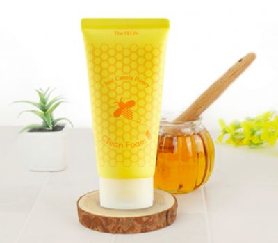 Пенка очищающая с медом канола TheYEON Jeju Canola Honey Clean Foam 150мл