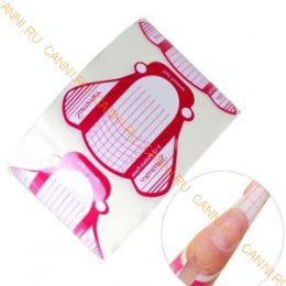 Формы для наращивания ногтей, широкие, 500 шт. №1