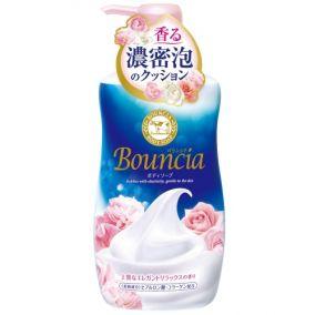 """Жидкое увлажняющее мыло для тела COW BRAND """"Bouncia"""" """"Взбитые сливки"""" с гиалуроновой кислотой и коллагеном, элегантный цветочный аромат, диспенсер 550 мл."""