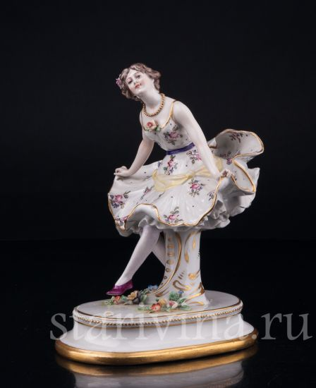 Изображение Балерина, Дрезден, Германия, кон. 19, нач. 20 в