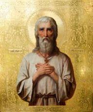 Икона Николай Псковский, Саллос (копия старинной)